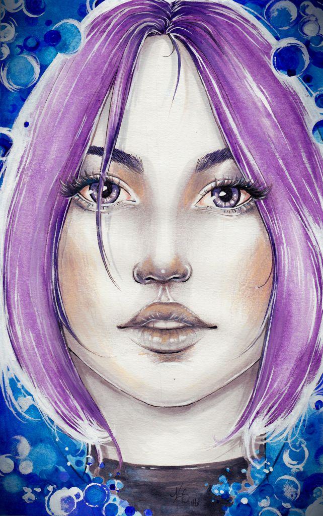 Kylah Schwehm Artist of custom portrait drawings