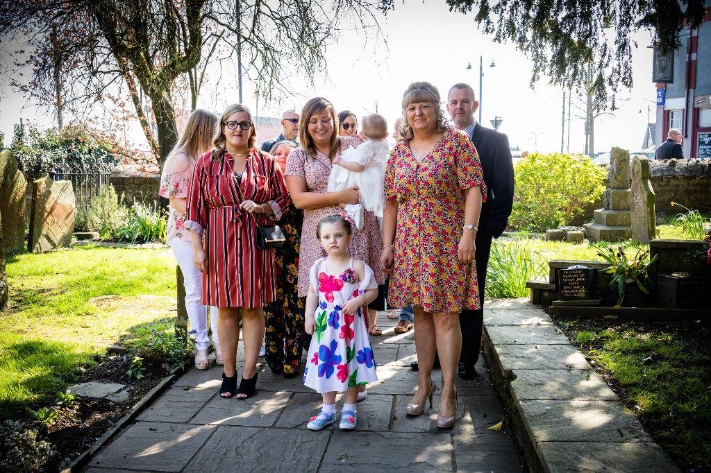 Hazel's Christening