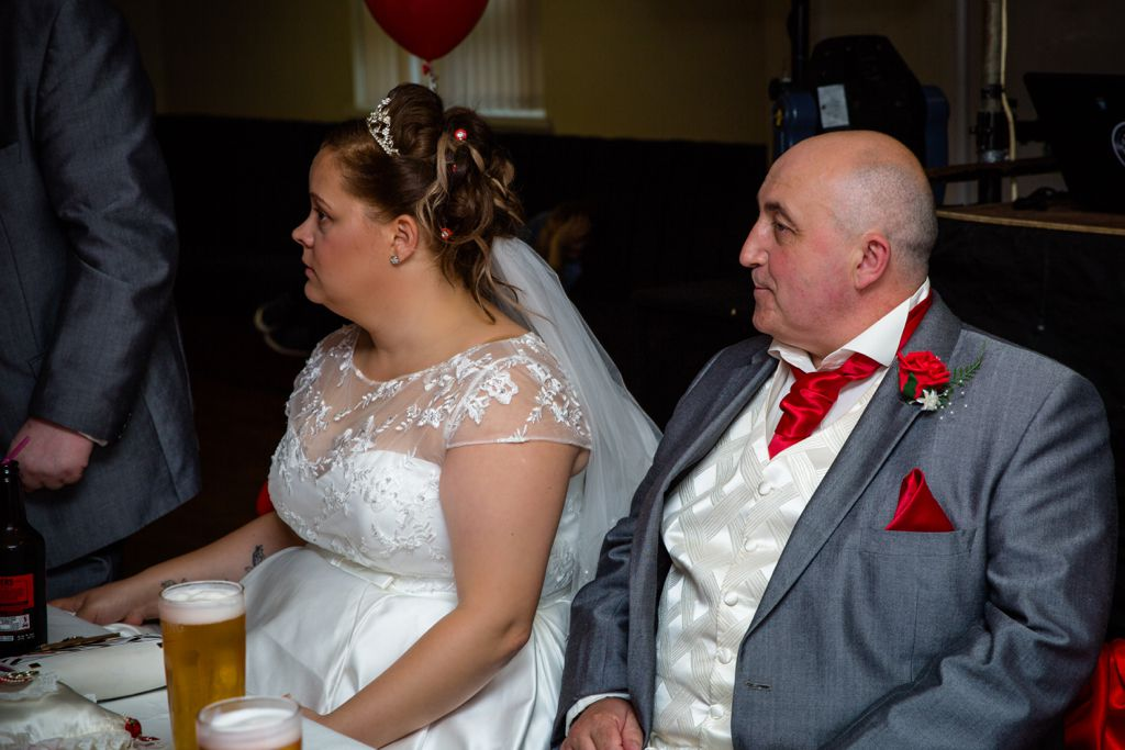 Judith & Lee Hawkers wedding