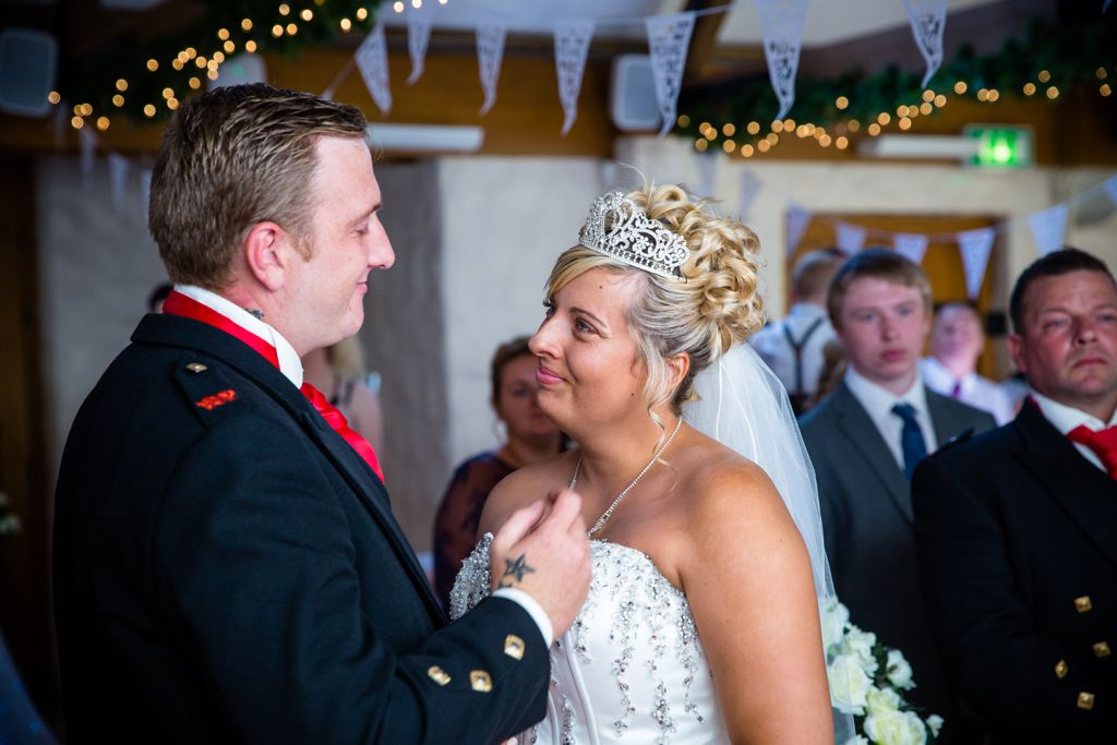 Kirsty and Jamie's wedding