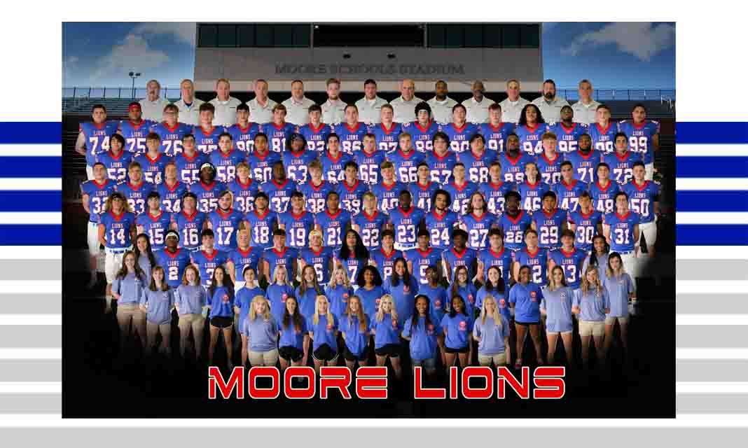 Moore Lions Football Team