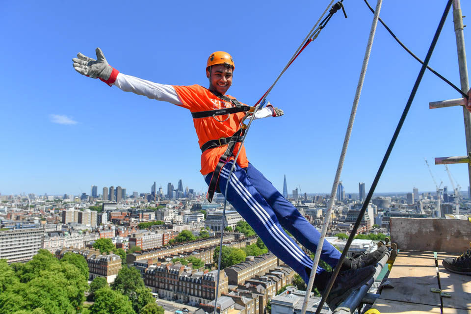Pituitary Foundation Abseil
