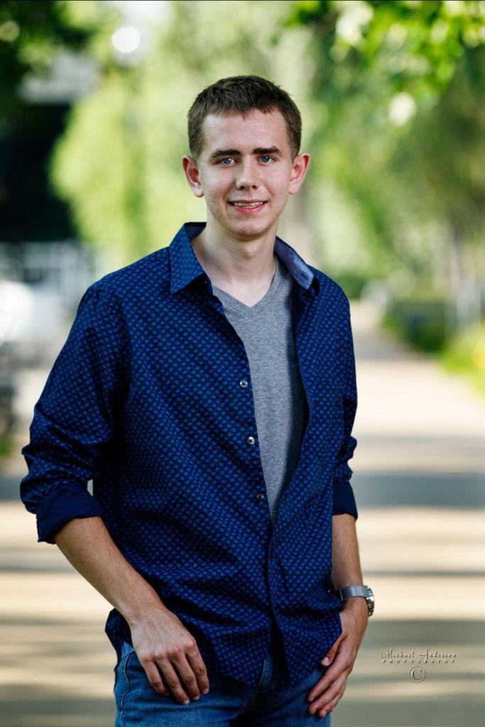 Aaron's Senior Portraits