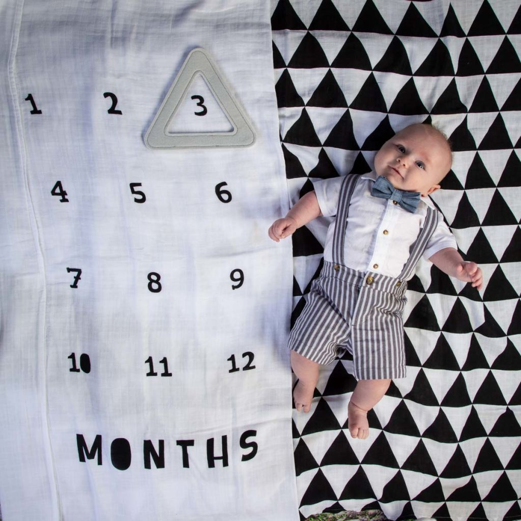 Adam's Three Month Portraits