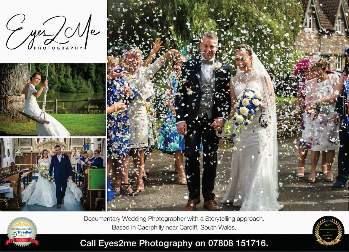 Certified Proffesional Wedding Photographer with a story telling approach. Based in Caerphilly near Cardiff South Wales