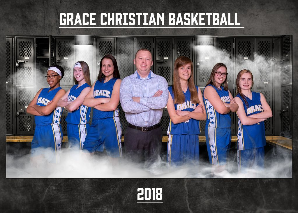 Grace Christian Girls BB 2018